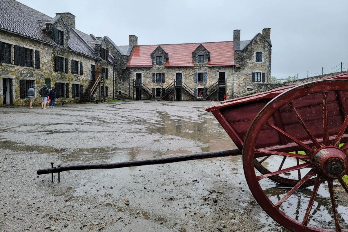 Fort Ticonderoga in upstate New York