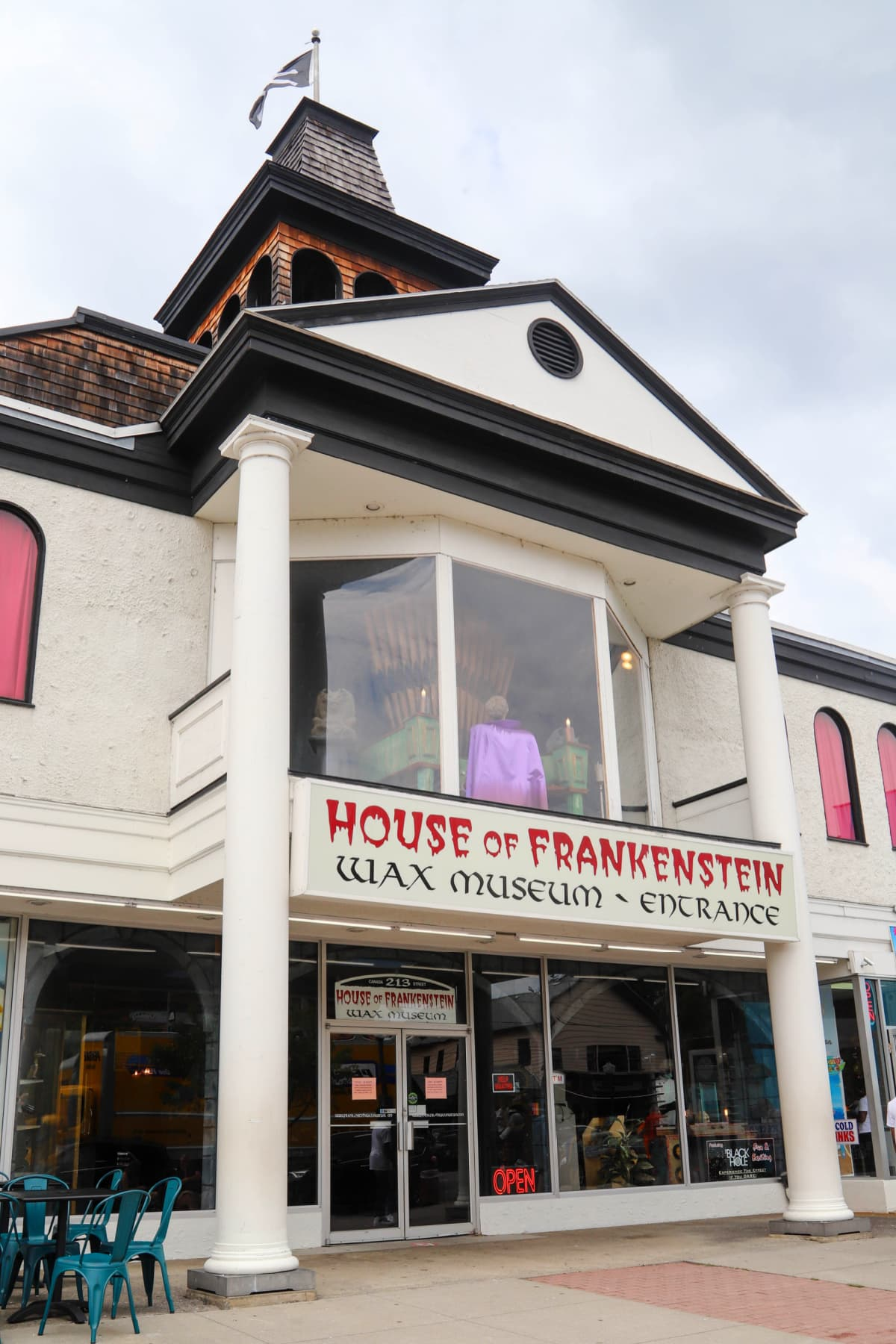Frankenstein Wax Museum in Lake George Village