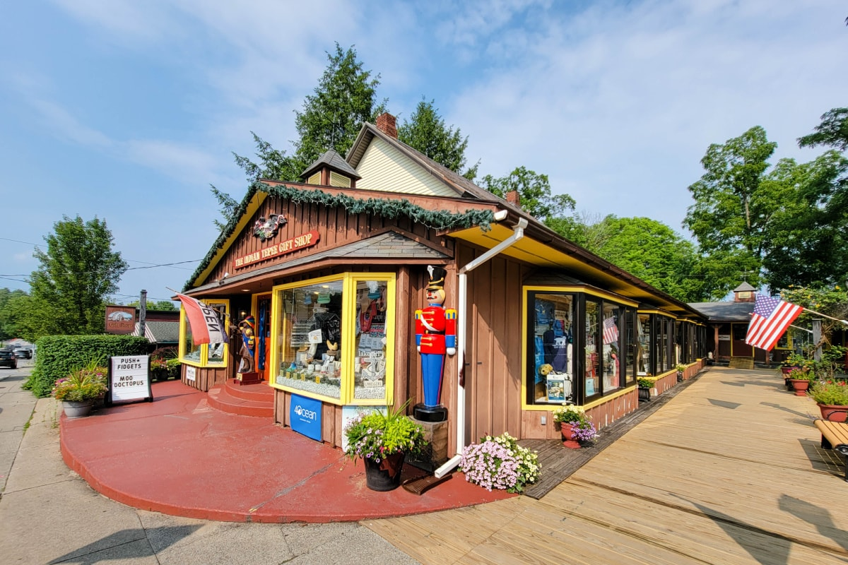 Indian Teepee Gift Shop in Bolton Landing New York