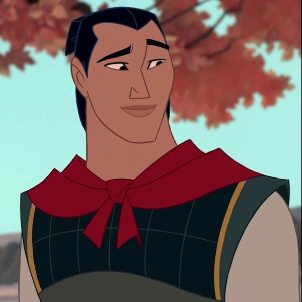 Li Shang from Mulan