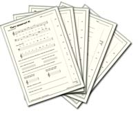 Music Theory Books which are printable for your students