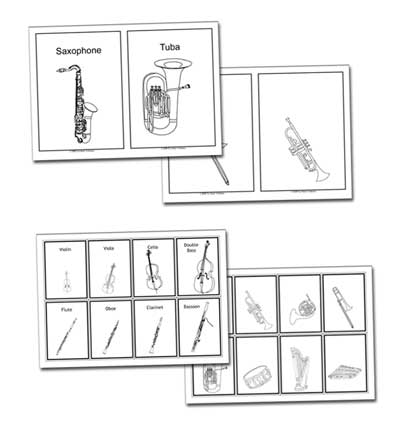 Music Lesson Plans on the Instruments of the Orchestra