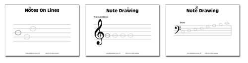 Junior Music Worksheets
