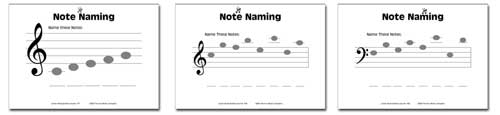 Junior Music Worksheets