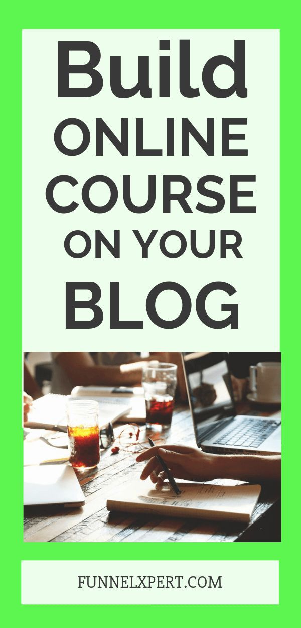 Online Course on blog