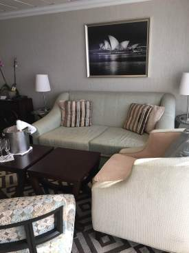 Club Owner's Suite Living Area