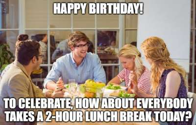 20 Funny Birthday Wishes For Bosses Managers