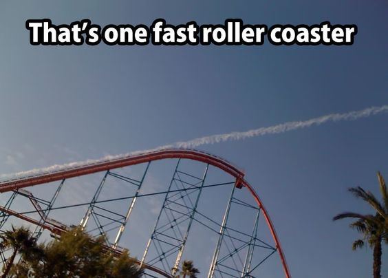 Fast Roller Coaster  Funny Pictures Quotes Memes Funny