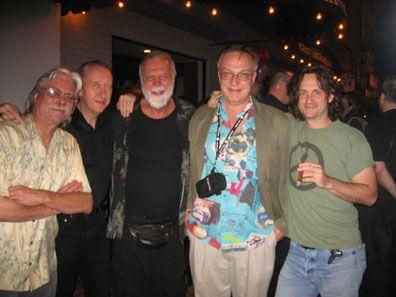 Dave Scroggy, Brian Talbot, JOHN DAVIS, Bob Burden, Jeff Smith