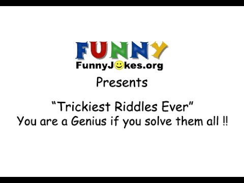Trickiest Riddles Ever