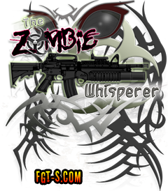 Zombie Whisperer M16 M4 Carbine Hunter Killer design by Funny Graphic T-Shirts. Available on CafePress.