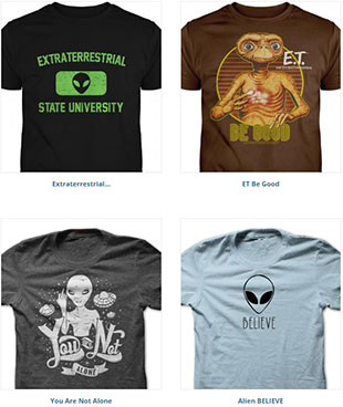The best Alien Abduction Day T-Shirts on SunFrog, 1 of 2.