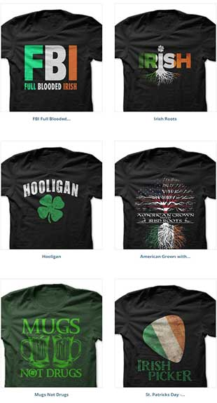 The best St. Patrick's Day T-Shirts on SunFrog, 1 of 2.