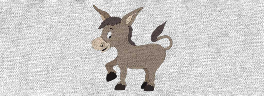 Democratic Party donkey t-shirts.