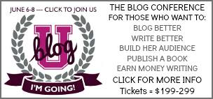 Join us at Blog U!