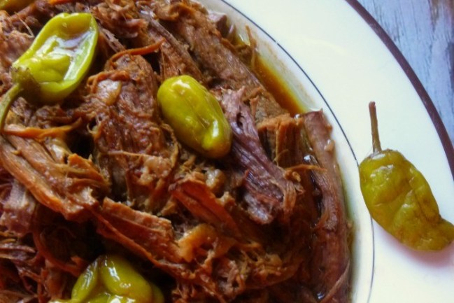 This Crockpot Mississippi Roast recipe is the most amazing beef to come out of a slow cooker. It is moist, flavorful, and so easy it takes only 5 minutes to prepare. Try this! It will become a dinner you'll LOVE!