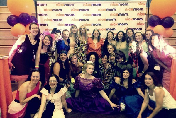 #BlogU14 Faculty at @NickMom Retro Prom
