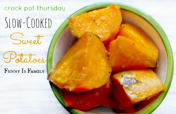 Don't wait for Thanksgiving to make these incredibly easy Crock Pot Sweet Potatoes recipe! They have the perfect blend of buttery sweetness, and make an excellent side dish!