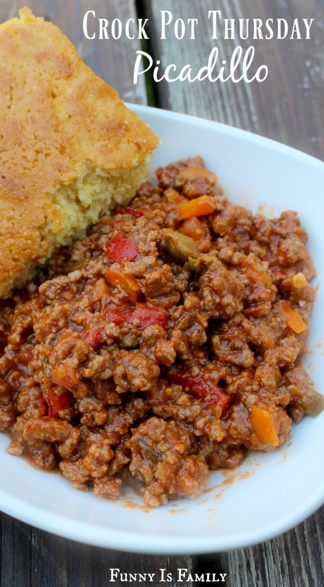 Crock Pot Picadillo - Funny Is Family