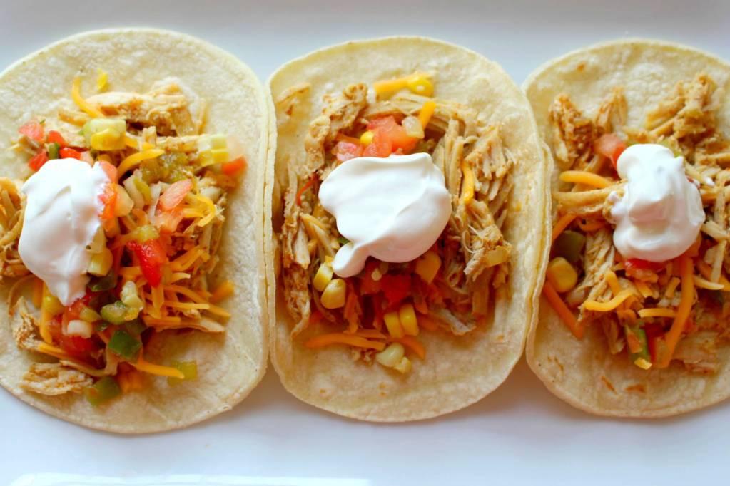 Crock Pot Chicken Ranch Tacos