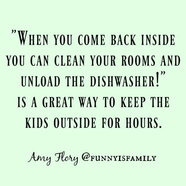 Hilarious memes about kids and chores.