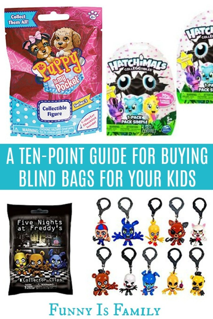 A hilarious ten-point guide for buying blind bags for your kids!