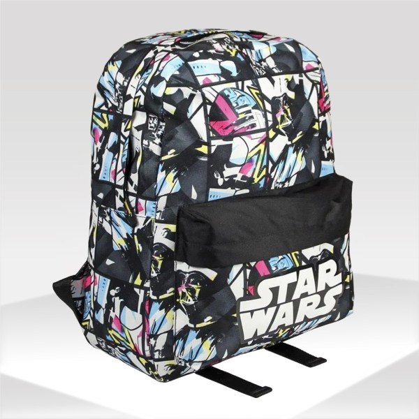 Mochila escolar infantil Star Wars negro backpack