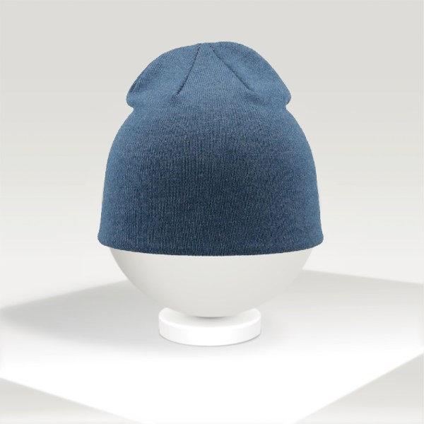 personalized atlantis blue beanie