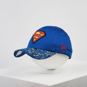 Gorra de bebé New Era 9forty Superman visera pintura
