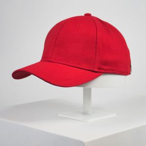 Gorra lisa roja personalizada Top Hats adulto