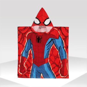 poncho spiderman kids