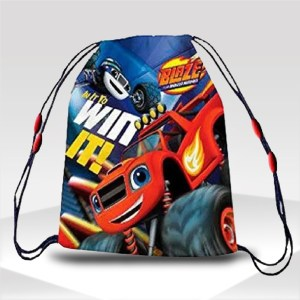 mochila blaze cars disney gym sack