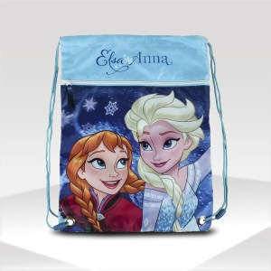 mochila frozen walt disney backpack gym sack