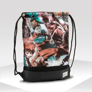 mochila justice league gym sack