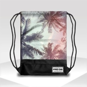 Gymsack bag PRO DG PALMTREE | Beach Backpacks at Funny Kiddy