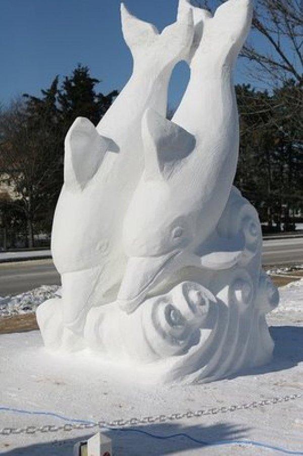 Incredible Snowmen Built Creative In
