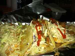 Delicious specialty tacos