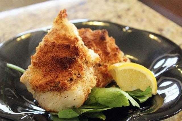 Serve crispy fish