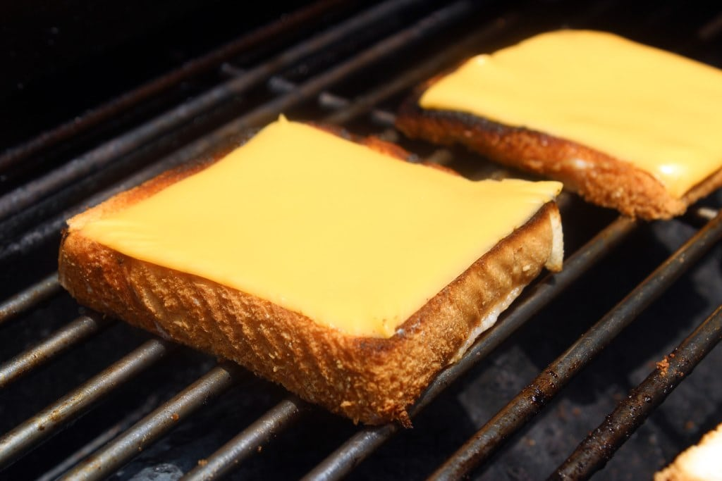 Start with American cheese
