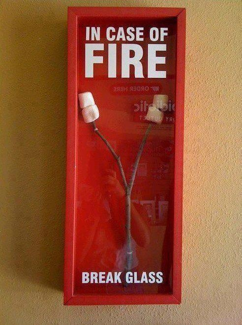 In Case of Fire Funny Meme  FUNNY MEMES