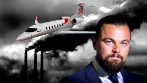 DiCaprio Takes Private Plane to Accept Environmental Award