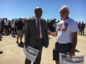 Trump Locates Only Black Man at Rally