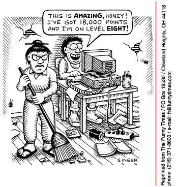 Funny andy singer computer  cartoon, July 23, 1997