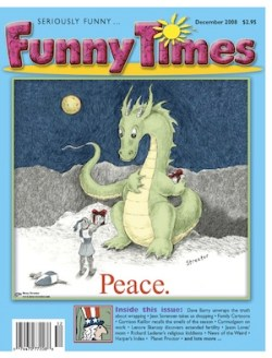 2008/12 Funny Times cover