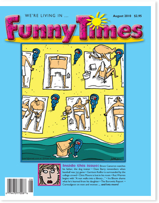 Funny Times August 2010 issue cover