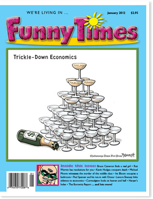 Funny Times January 2012 issue cover