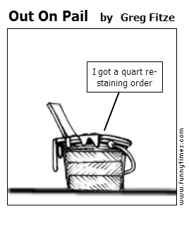 Out On Pail by Greg Fitze