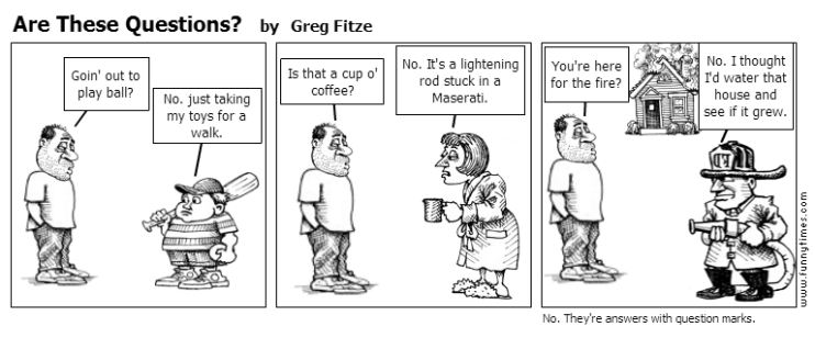 Are These Questions by Greg Fitze