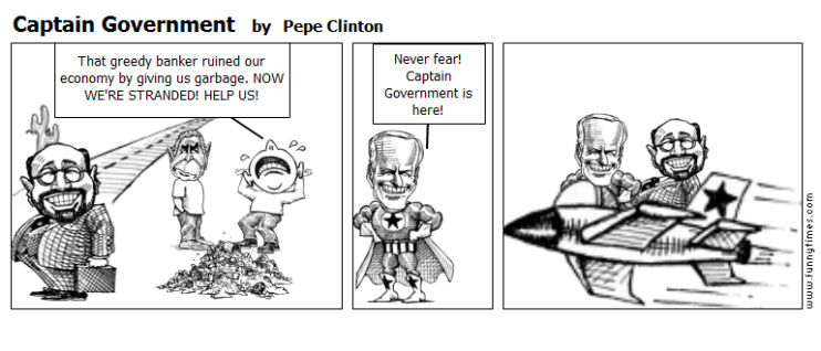 Captain Government by Pepe Clinton