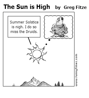 The Sun is High by Greg Fitze